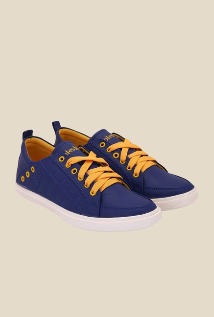 Solester Navy & Yellow Sneakers