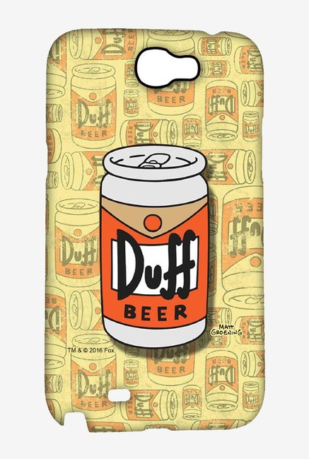 Simpsons Duff Beer Case for Samsung Note 2