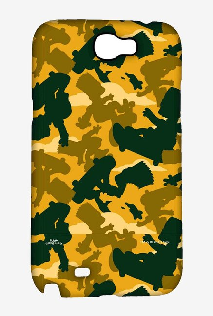 Simpsons Camo Bart Case for Samsung Note 2