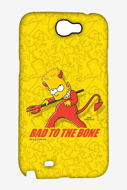 Simpsons Bad To The Bone Case for Samsung Note 2