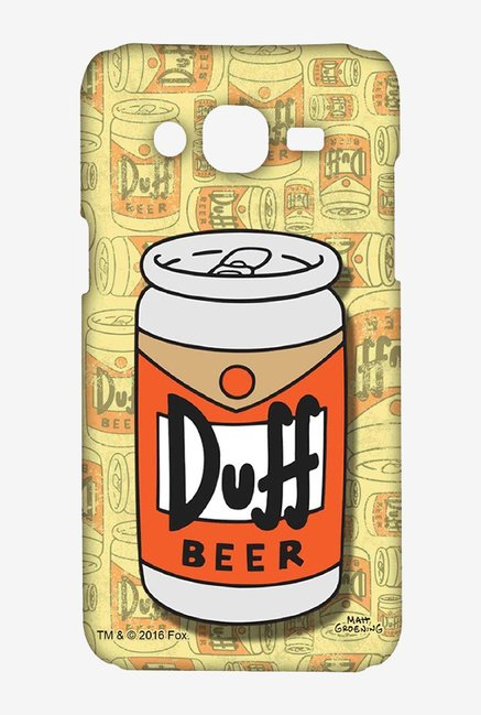 Simpsons Duff Beer Case for Samsung Grand Prime