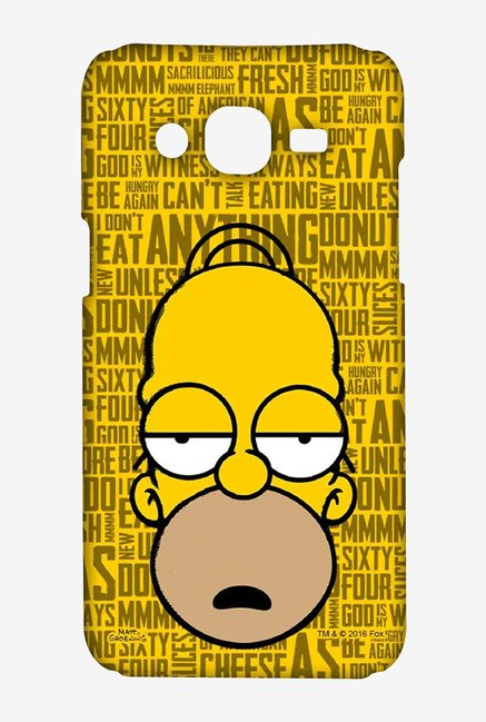 Simpsons Homer Says Case for Samsung J5