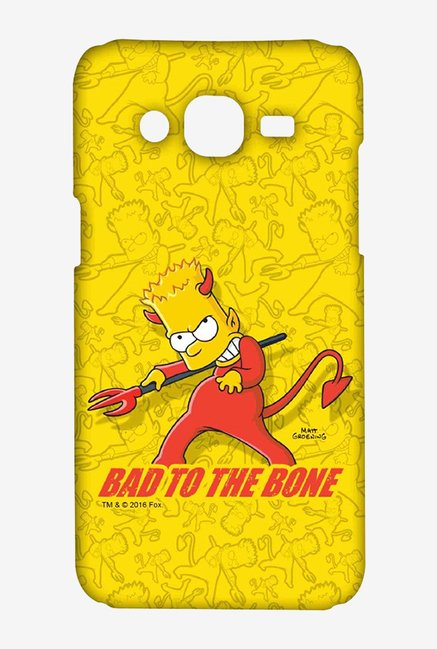 Simpsons Bad To The Bone Case for Samsung J5