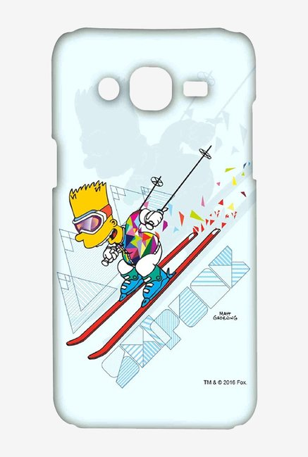 Simpsons Ski Punk Case for Samsung Grand Prime