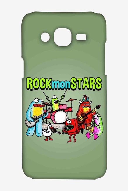 Kritzels Rockmonstars Case for Samsung Grand Prime