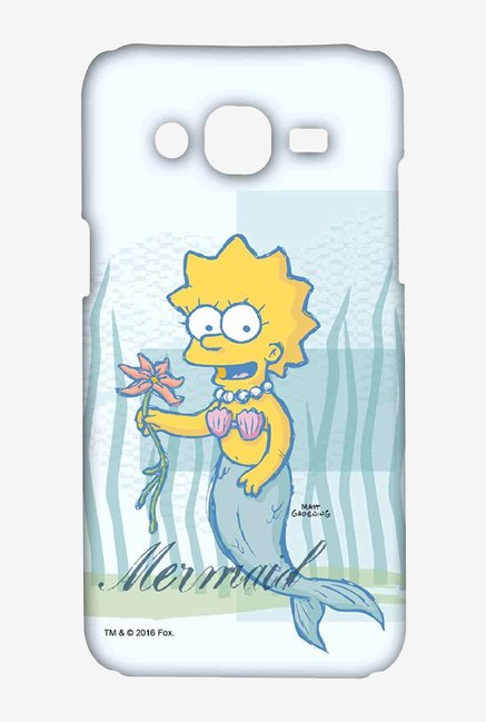 Simpsons Mermaid Case for Samsung Grand Prime