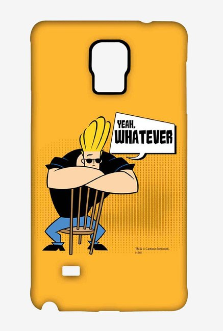 Johnny Bravo Yeah Whatever Case for Samsung Note 4