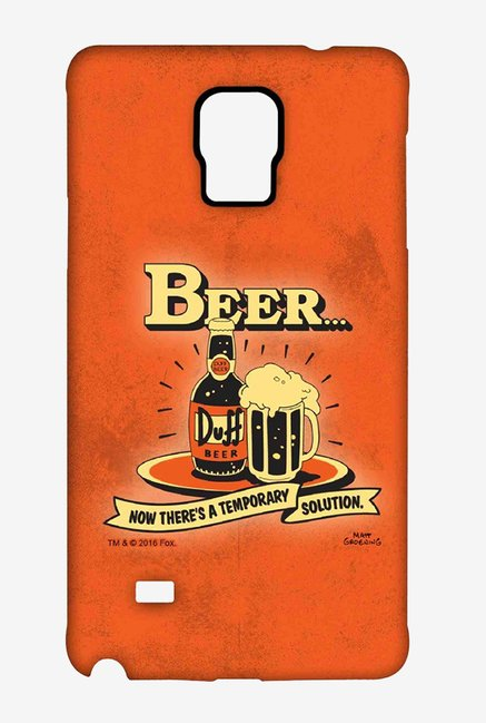 Simpsons Temporary Solution Case for Samsung Note 4