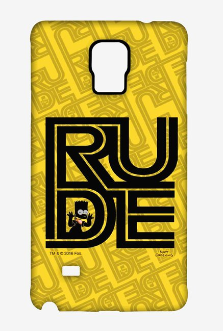 Simpsons Rude Case for Samsung Note 4