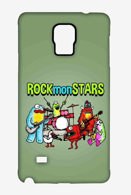 Kritzels Rockmonstars Case for Samsung Note 4