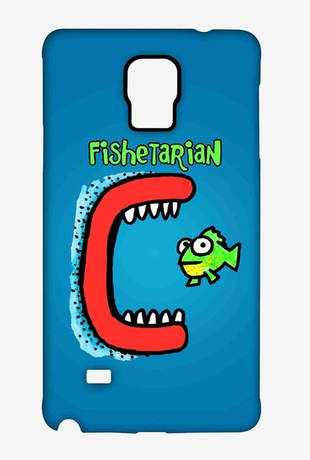 Kritzels Fishetarian Case for Samsung Note 4