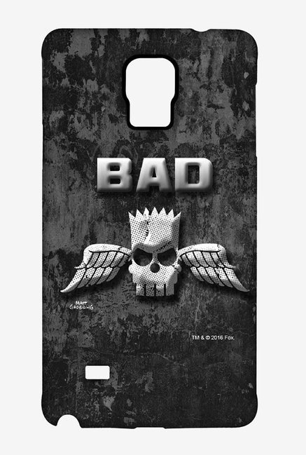 Simpsons Cracked Wall Bart Case for Samsung Note 4