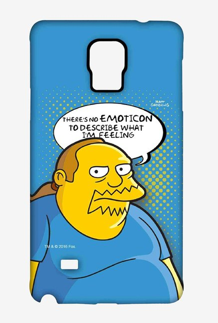 Simpsons Comic Guy Case for Samsung Note 4