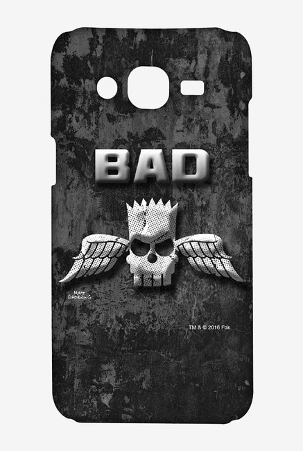 Simpsons Cracked Wall Bart Case for Samsung Grand Prime