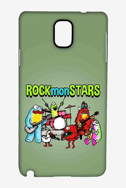 Kritzels Rockmonstars Case for Samsung Note 3