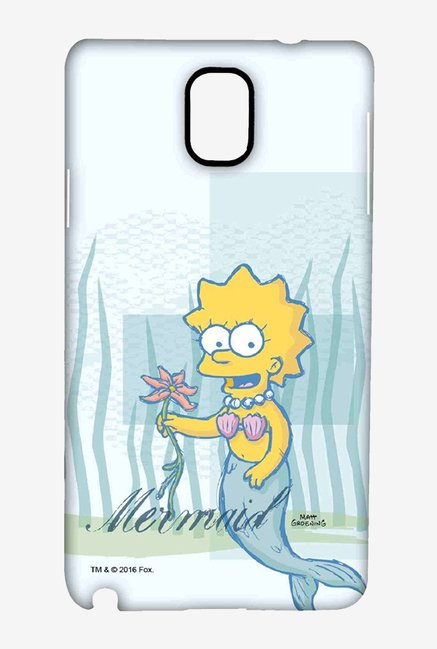 Simpsons Mermaid Case for Samsung Note 3