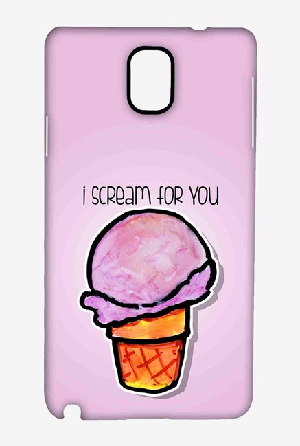 Kritzels I Scream For You Case for Samsung Note 3