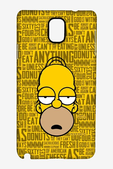 Simpsons Homer Says Case for Samsung Note 3