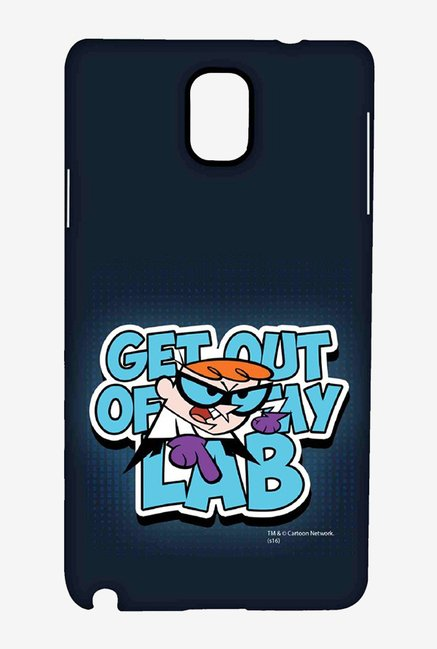 Dexter Get Out Of My Lab Case for Samsung Note 3