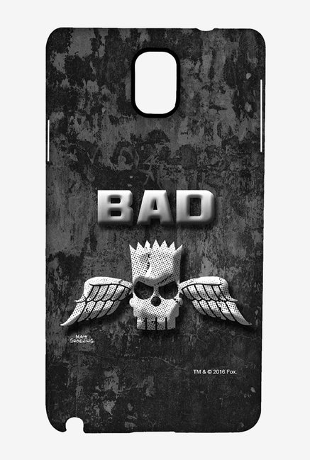 Simpsons Cracked Wall Bart Case for Samsung Note 3