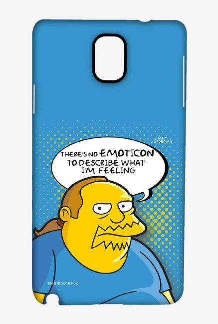 Simpsons Comic Guy Case for Samsung Note 3