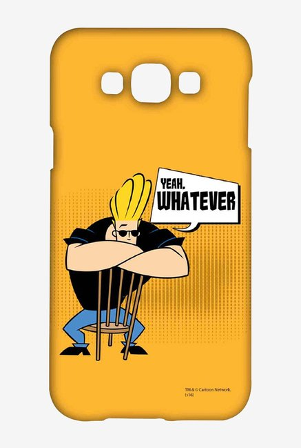 Johnny Bravo Yeah Whatever Case for Samsung Galaxy E7
