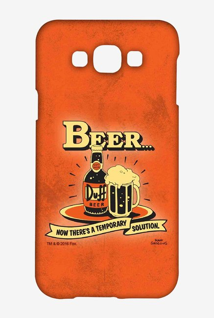 Simpsons Temporary Solution Case for Samsung Galaxy E7
