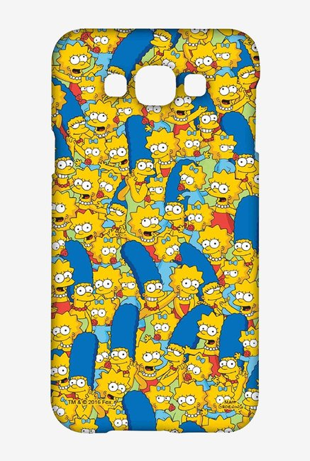 Simpsons Pattern Case for Samsung Galaxy E7