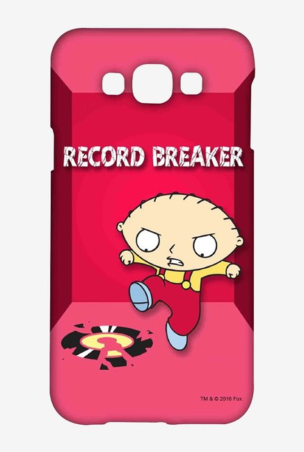 Family Guy Record Breaker Case for Samsung Galaxy E7