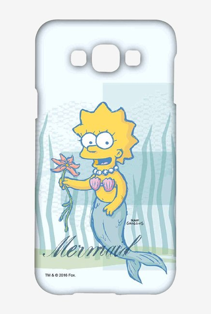 Simpsons Mermaid Case for Samsung Galaxy E7