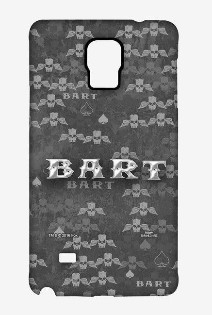 Simpsons Bart Wings Case for Samsung Note 4