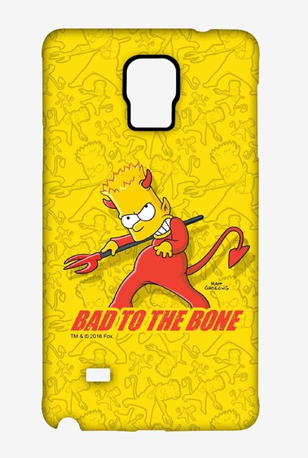 Simpsons Bad To The Bone Case for Samsung Note 4