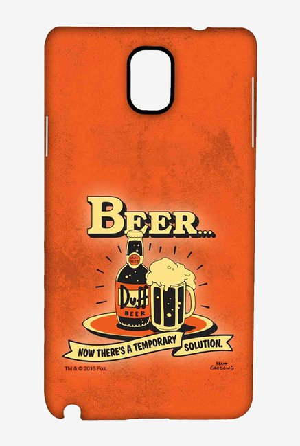 Simpsons Temporary Solution Case for Samsung Note 3