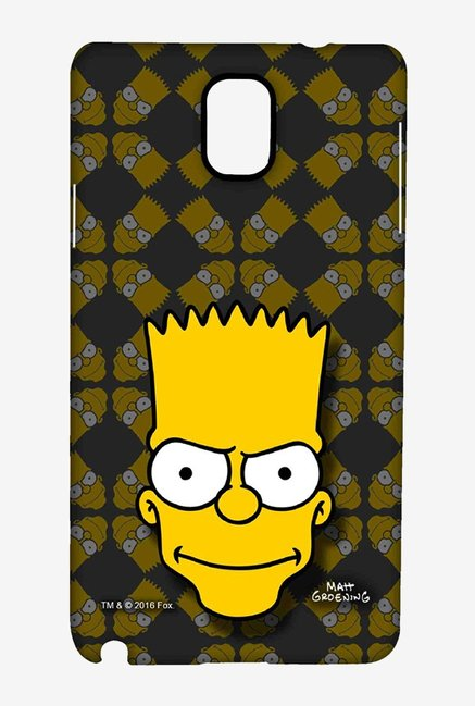 Simpsons Bartface Case for Samsung Note 3