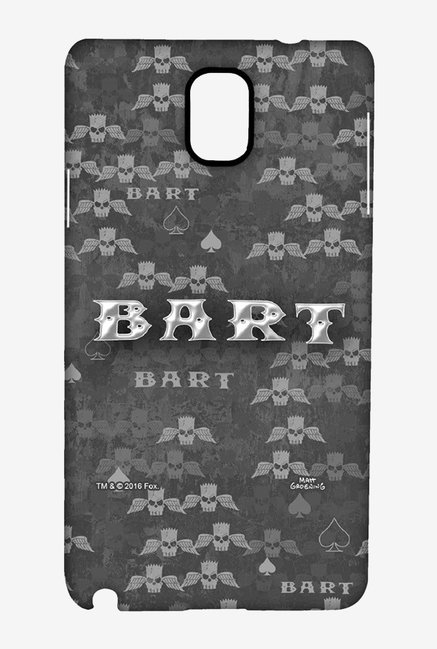 Simpsons Bart Wings Case for Samsung Note 3