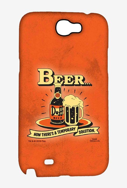 Simpsons Temporary Solution Case for Samsung Note 2