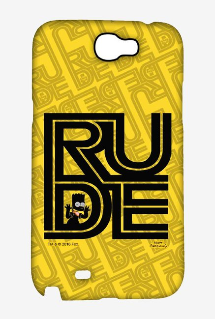 Simpsons Rude Case for Samsung Note 2