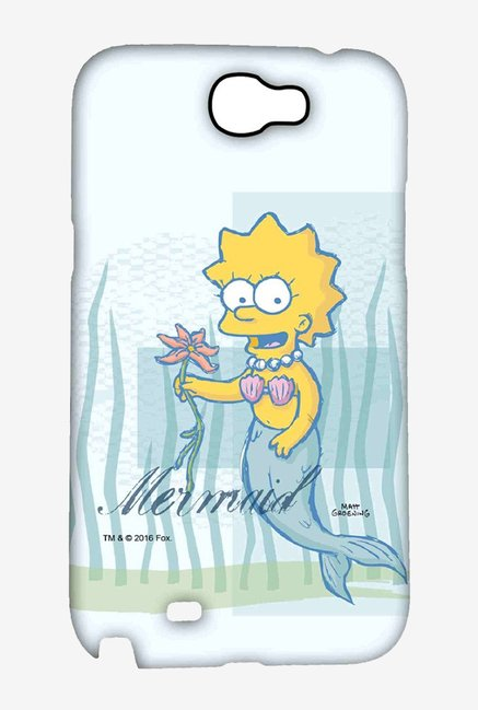 Simpsons Mermaid Case for Samsung Note 2