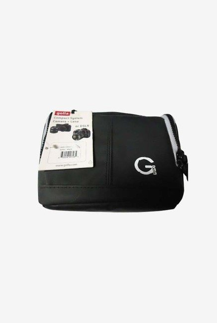 Golla Compact System DSLR Camera & Lens Case Bag(Black)