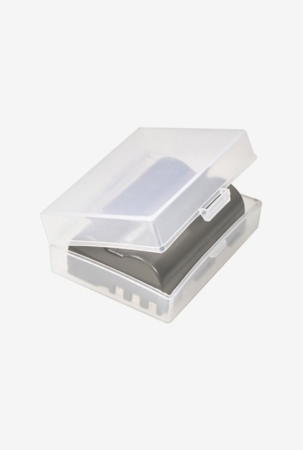 FotoTech Medium Battery Storage Case 10 Pcs (Clear)