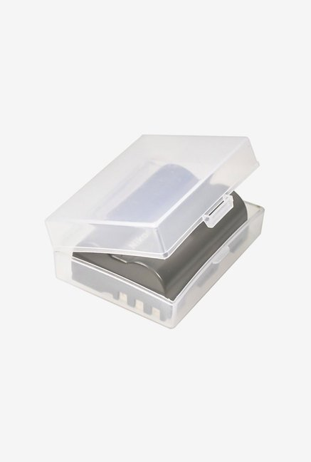 FotoTech Medium Battery Storage Case 3 Pcs (Clear)