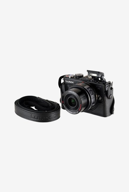 Panasonic Leather Case for Panasonic Dmc-Gx1 (Black)