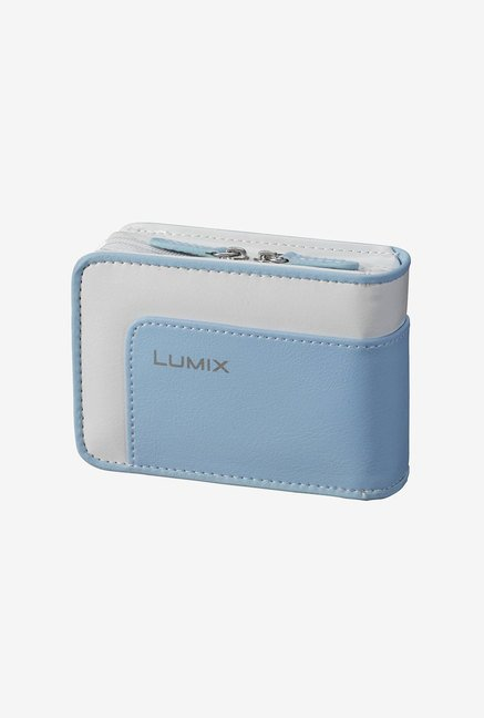 Panasonic Case for Select Lumix Cameras (Light Blue/White)