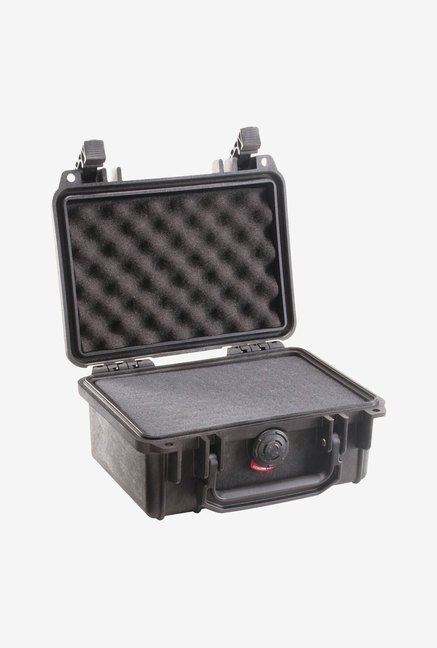 Pelican Case with Foam Small DSLR Camera Case (Black)
