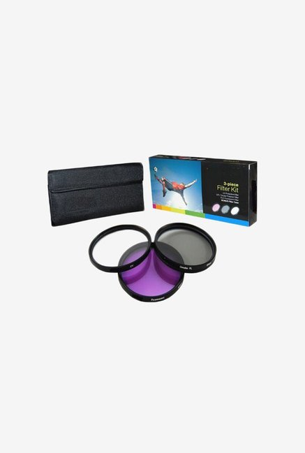 PLR Optics 77mm 3-Piece Filter Set for Nikon