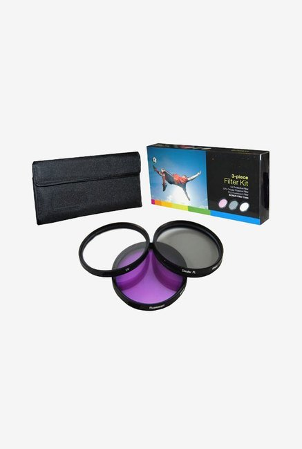 PLR Optics 82mm 3-Piece Filter Set for Nikon
