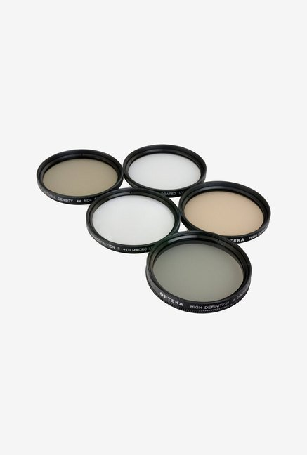 Opteka 58mm High Definition Professional 5 Piece Filter Kit