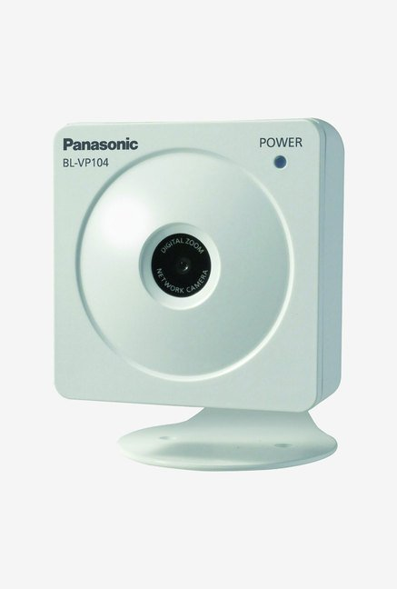 Panasonic BLVP101P VGA H.264 Network Camera (White)