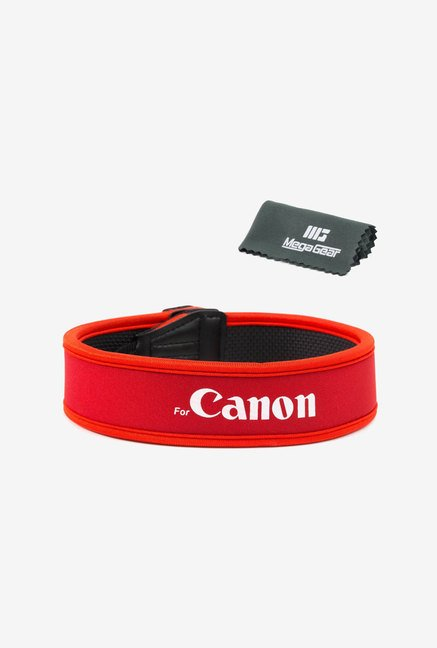 MegaGear Camera Shoulder Strap for Canon DSLR (Red)