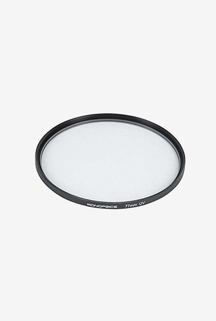 Monoprice 77Mm Uv Filter (Black)